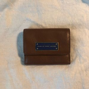 MARC BY MARC JACOBS Brown Leather Wallet